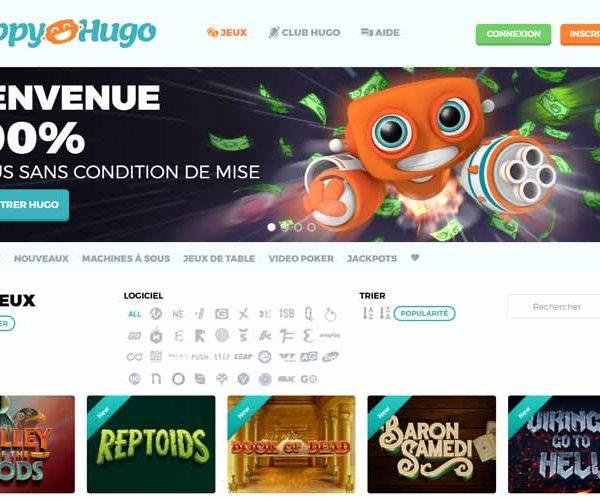 Happy Hugo avis : un casino à éviter à tout prix !