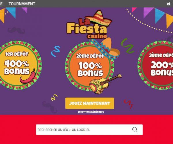 La Fiesta casino avis : pourquoi est-il à éviter ?