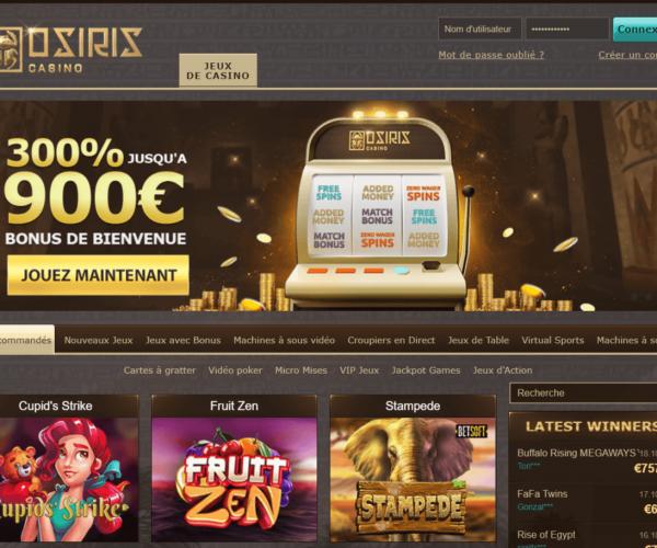Casino Osiris : pourquoi c'est un mauvais plan ?