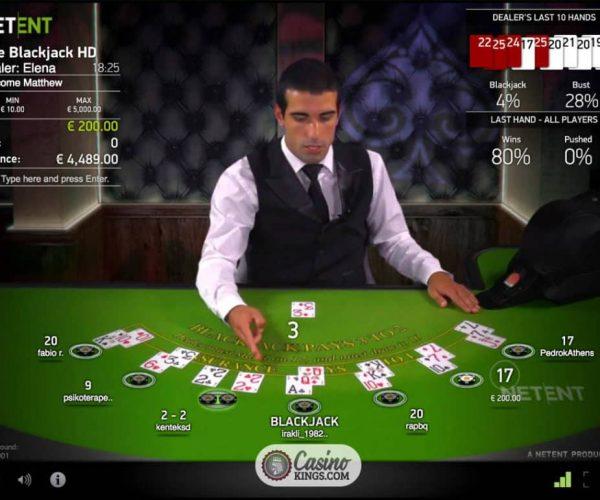 Apprenez tout sur le blackjack live!