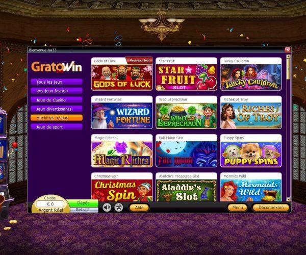 Notre avis d'expert sur le casino Gratowin : tout ce qu'il faut savoir !