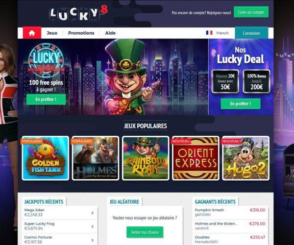 Casino Lucky8 : arnaque ou opportunité ?