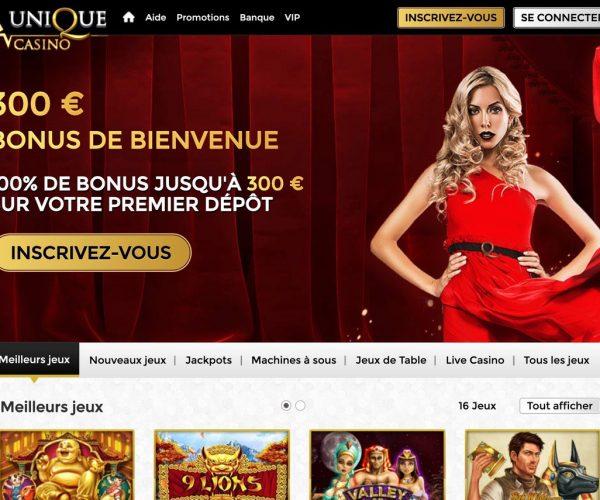 Avis Unique casino : bonne affaire ou fraude ?